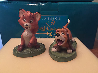 """WDCC The Fox & The Hound Copper & Tod """"The Best of Friends"""""""