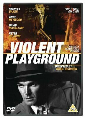 Violent Playground (Digitally Remastered) [DVD] - DVD  L8VG The Cheap Fast Free