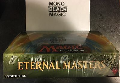 Magic the Gathering MTG Factory sealed booster Box ETERNAL MASTERS force of will