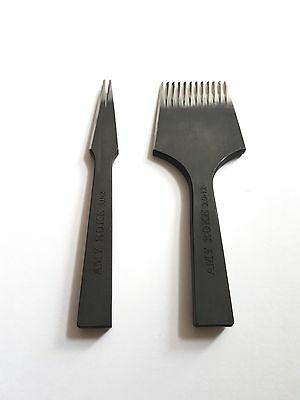 Atelier Amy Roke -- Pricking Irons 3.0mm (#9) -- 12 & 2 teeth