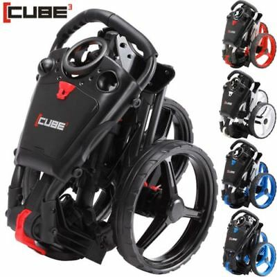Carro de golf CUBE 3,  Nuevo 2017 Modelo 3 Ruedas . CUBE 3 GOLF TROLLEY NEW 2017