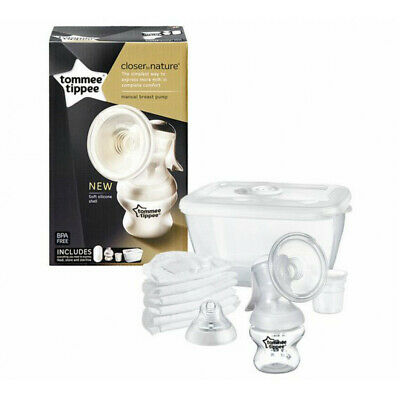Tommee Tippee Closer To Nature Manual Breast Pump Silicone Shell 0% BPA