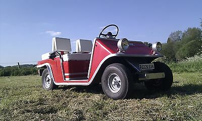 Road legal vintage golf buggy electric extremely rare!