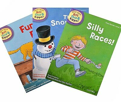 Biff, Chip and Kipper - Level 2 - First Stories Collection (3 books)