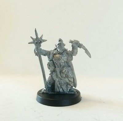 games workshop  Lord of the rings metal mordor orc shaman