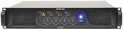 CITRONIC QP2320 QUAD POWER AMPLIFIER 4x 580W 4 CHANNEL PA DJ 2U RACK 172.243