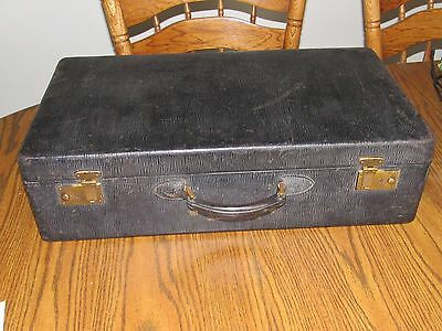 Antique Black Dr.Doctor's Bag-Suit Case-Luggage,Leather+Handle,Indianapolis,Ind