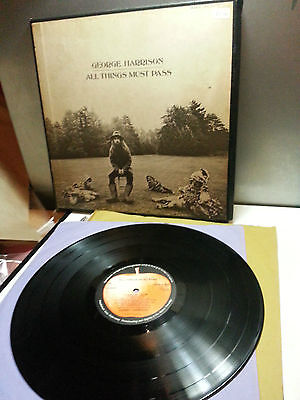 George Harrison,All Things Must Pass,box/poster set,Apple Records,STCH 639, 1970