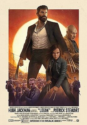 Logan 2017 Imax Movie Poster Print A6+A4+A3+Super A3+Framed Hugh Jackman