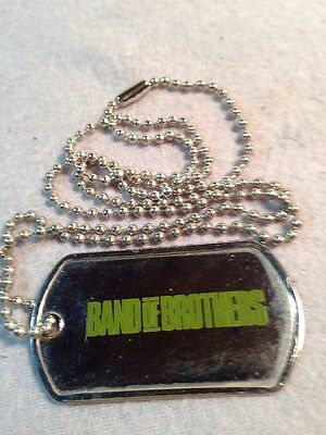 Band Of Brothers DOG TAG - HBO Promo, 101st Airborne Easy Co. WWII D-Day