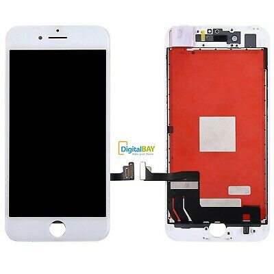 Touch Screen Frame Vetro Lcd Display Retina Schermo Per Apple Iphone 7 Bianco
