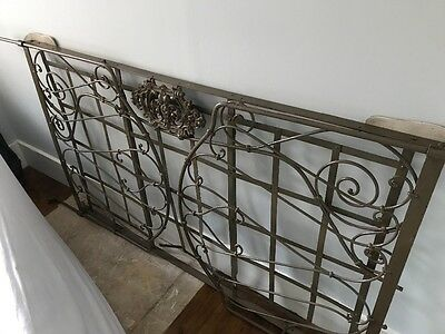 XIX century iron French day bed