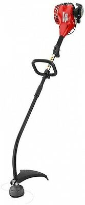 Homelite 2-Cycle 26cc Curved Shaft Gas Trimmer Curved Shaft Outdoor Garden