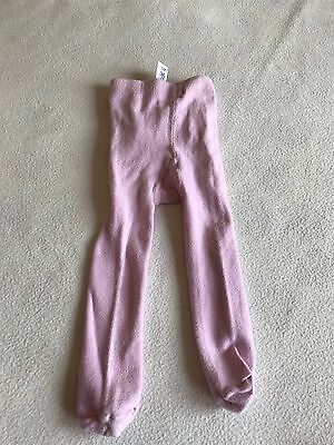 Baby Girls Clothes 3-6 Months - Cute Pink Tights -