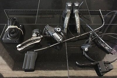 Shimano Dura Ace DI2 7970 Shifters, Front & Rear Derailleurs, Charger, Battery
