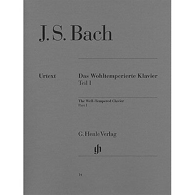 J.S. Bach: The Well-Tempered Clavier Part 1 (Urtext). Piano Sheet Music