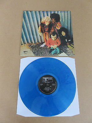 Jimi Hendrix / Band Of Gypsys Lp Rare Puppet Sleeve Blue Vinyl 2017 Repressing