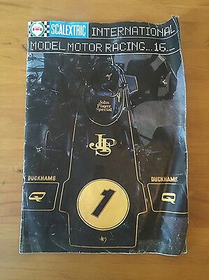 VINTAGE SCALEXTRIC CATALOGUE - 16th EDITION 1975 - International Model Motor