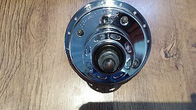 Sturmey Archer GH6 Front Dynohub 1950's 1955 Excellent Chrome Vintage Bicycle