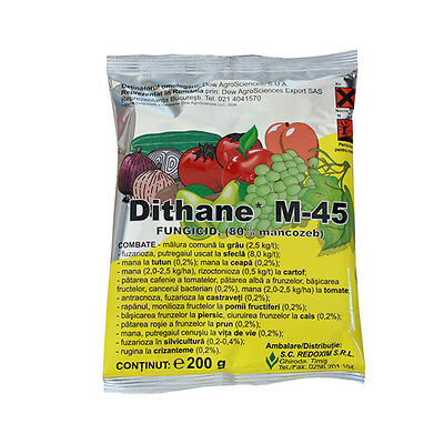 Fungicide DITHANE M45(moncozeb 80%) For All Vegetables ,Flowers and Trees