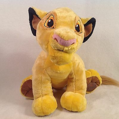 "Disney Store Exclusive Lion King Simba Plush 13"" Super Soft Stuffed Animal"