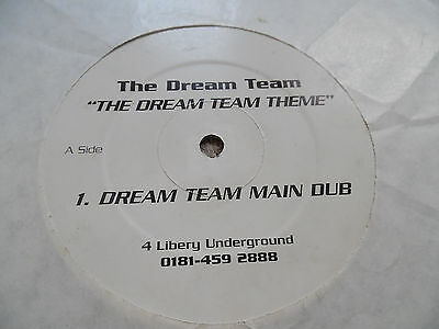 The Dream Team - The Dream Team Theme - 4 Liberty - Classic Uk Speed Garage 12""
