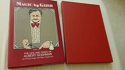 Magic by Gosh magician book with slipcover slip cover