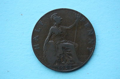 George V Halfpenny 1925 British 20th century coin Type 2