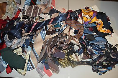 huge lot vintage 1950s 1960's Ties Great for Crafts !!!