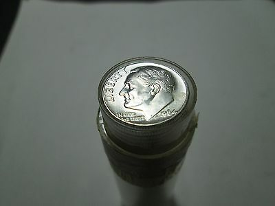 BU/UNC Roll of 1960 TO 1964 Roosevelt Silver Dimes Nice UNCIRCULATED ROLL