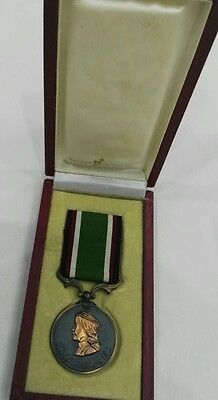 1920 TransJordan Jordan Long Faithful Service King Abdullah Medal Order Badge