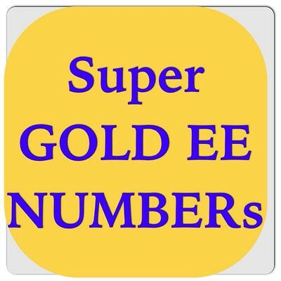 Ee Network Gold Vip Business Easy Mobile Phone Number Diamond Platinum Sim Card