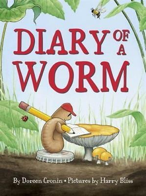 NEW Diary of a Worm By Doreen Cronin Paperback Free Shipping
