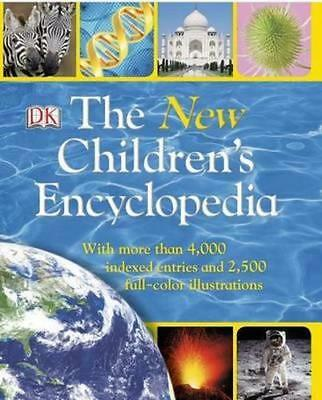 NEW The New Children's Encyclopedia By DK Paperback Free Shipping