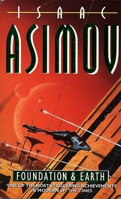 Foundation and earth by Isaac Asimov (Paperback) Expertly Refurbished Product