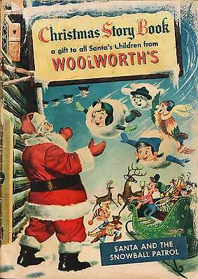 Woolworth's Christmas Story Book (1953)  Photocopy Comic Book - Santa Claus