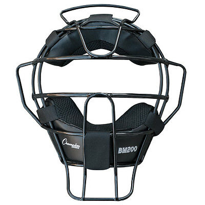 Champion Sports BM200 18 oz Lightweight Baseball Softball Umpires Face Mask