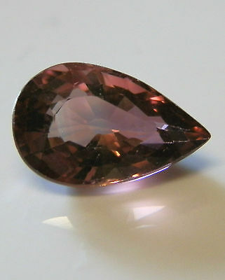 Natural earth-mined pink tourmaline...quality gem....2.16 carat