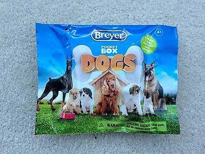 New NIP Breyer Pocket Dogs Horses Blind Bag Unopened #1583 Surprise Mini Animals