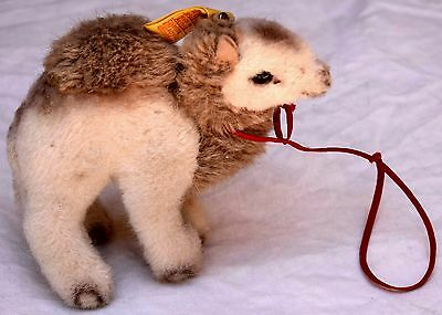 Vintage Steiff Hocky Standing Camel with Ear Tag #1443/14