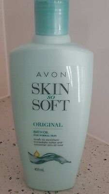 Avon skin so soft original bath oil 400ml