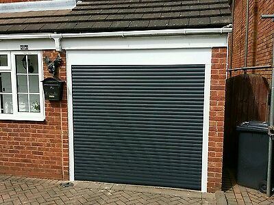 Gv Doors - Fully Fitted Electric Insulated Roller Garage Door Cheapest On Ebay