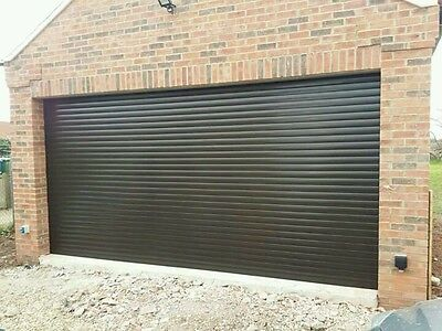 Electric Insulated Roller Garage Door- Inc 2 Remotes...Fully Fitted..High Spec