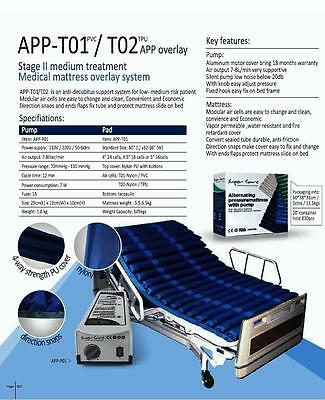 Hospital Bed Alternating Pressure Care Air mattress Medical Antidecubitus System