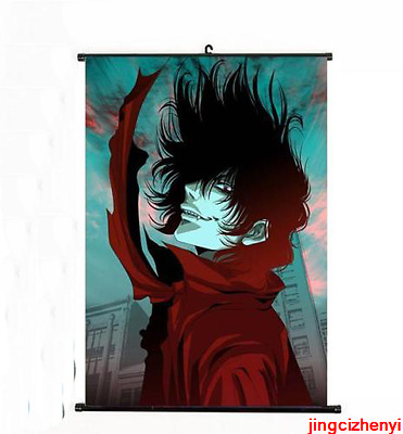Hot Japan Anime Hellsing Alucard Cosplay Home Decor Poster Wall Scroll 40*60cm