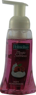 1 x 250 ml Palmolive Magic Softness Duft Schaum Seife Himbeerduft