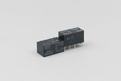 10Pcs OMRON G6S-2 Relay DPDT Two-pole 5V DC DIP 8Pin Low Signal