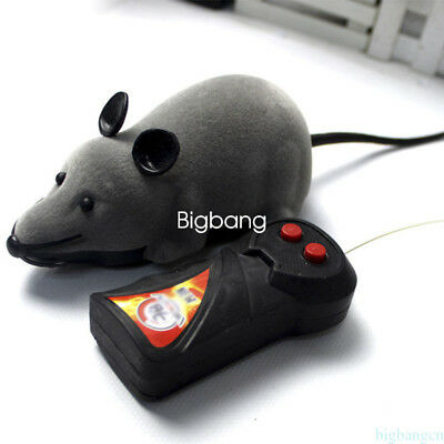 Good Wireless Remote Control RC Electronic Rat Mouse Toy For Cat Puppy Gift Hot