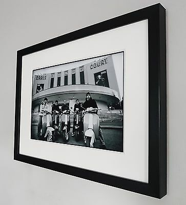 Oasis Framed Photo/Print Certificate-Noel Gallagher-Earls Court-Live Forever