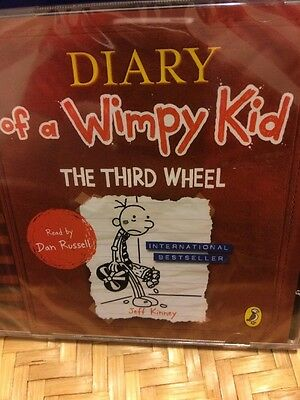 The Diary Of A Wimpy Kid-The Third Wheel-2CD Audio-new/sealed